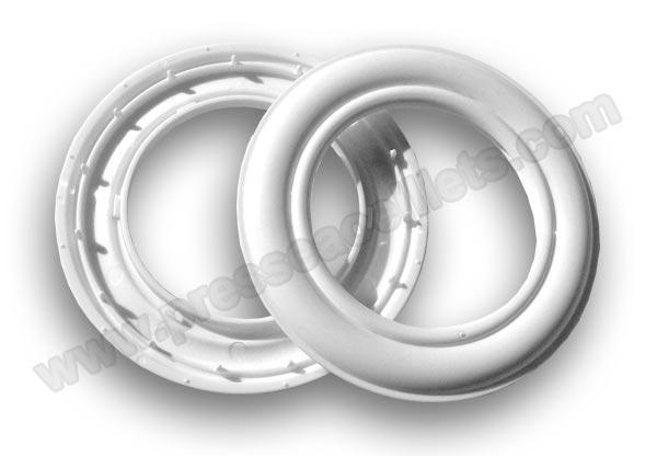 Anneaux Rideaux A Clipser.Oeillets Basique 40 Mm A Clipser Cuivre Fin De Serie